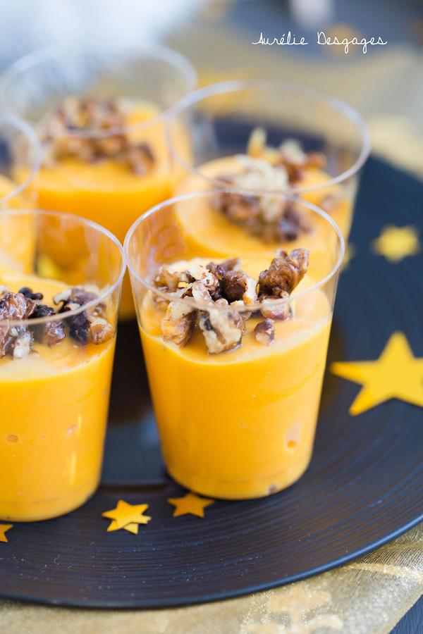 crème de potiron chevre noix2