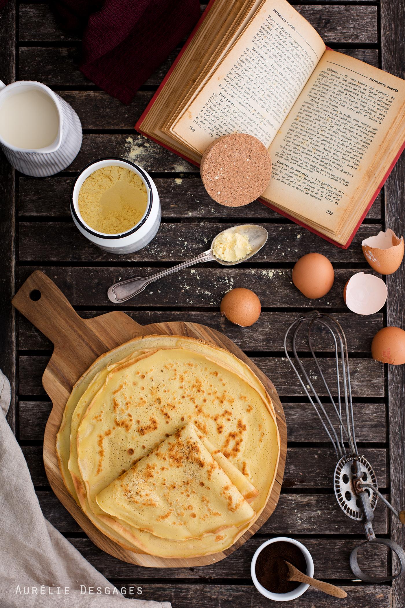 Cooking Lili Pate A Crepes A La Vanille Sans Gluten Et Sans Lactose
